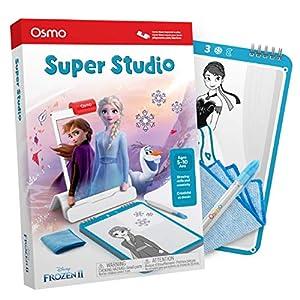 Osmo Essence Super Studio Disney Frozen 2 Game – Et 5-11 – Imparare a disegnare Elsa, Anna, Olaf & More Favorites & Guarda Come to Life – per iPad & Fire Tablet Base necessaria 1 spesavip
