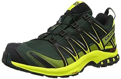 Salomon Men's XA Pro 3D GTX Running Trail Shoe (7 D(M) US, Darkest Spruce/Sulphur)