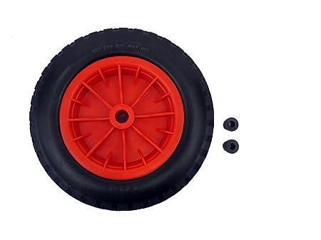 Pu 14 puncture proof red wheelbarrow wheel tyre 350 8 light pu 14quot puncture proof red wheelbarrow wheel tyre 350 8 light weight foam solutioingenieria Images
