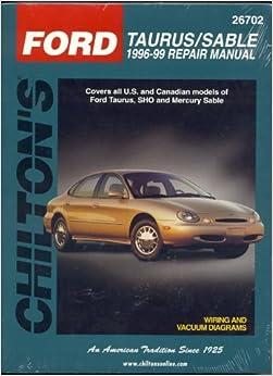 инструкция по ремонту ford taurus 1996-99