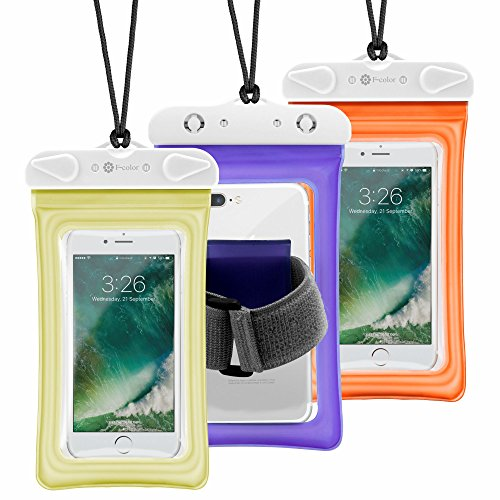 Sports Armband for Samsung Galaxy S5 and HTC One M7 (Orange) - 5