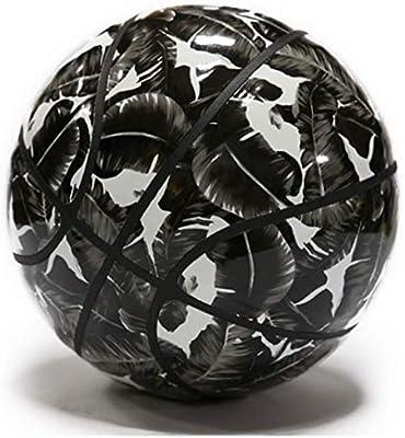 ZOCO - Balón de Baloncesto y Calle (Talla 6), Color Negro y Blanco ...