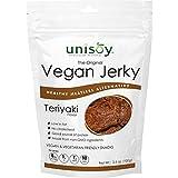 Cheap Unisoy Vegan Jerky Snacks, Vegetarian Plant Based Soy Protein Snack, The Original Meatless Healthy Jerky for Road Trips or Snacks On the Go (Teriyaki 3-Pack)