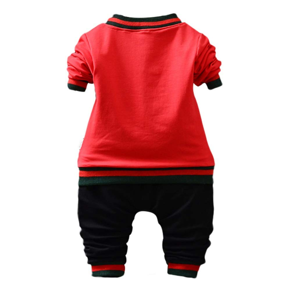 Jacket Coat Outerwear Gyratedream Baby Boy Clothes Set Tracksuits T-Shirt Long Sleeve Tops Trousers Pants 3Pcs Casual Outfits for 1-5 Years Kids