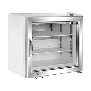 "HUBERT Frozen Food Merchandiser Freezer 1.7 cu ft White - 22 13/32""L x 21""W x 21""H"