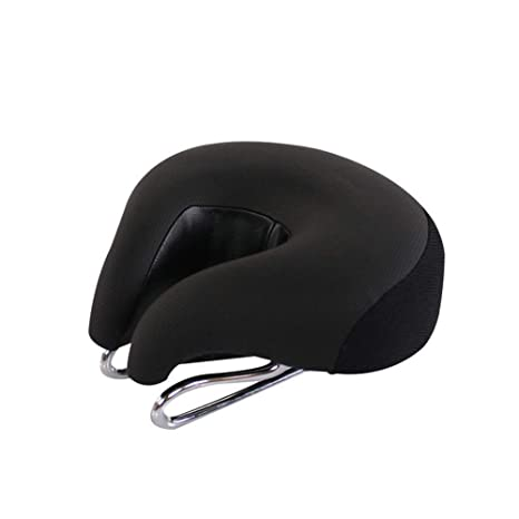 Comfort Wide Cruiser Bike Saddle Seat Cushion Pad Breathable for Bicycle Cycling