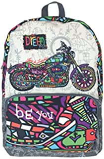 SENFORT California Dream Big Kids Sac à dos, 42 cm, Bleu
