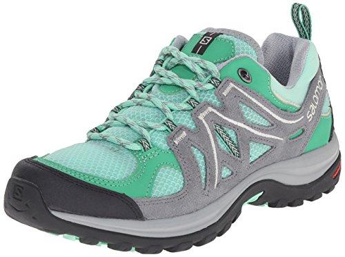 Shoe Ellipse Women's Grey 2 W Green Light Hiking Salomon Aero Pearl Lucite Grey pYx5WwU