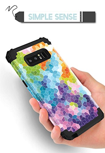 Samsung Galaxy Note 8 case,PIXIU Heavy Duty Protection Shock-Absorption&Anti-Scratch Hybrid Dual-Layer phone cases for Samsung Galaxy Note 8 2017 Realeased (multicolour) Photo #6