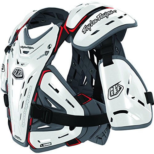 Troy Lee Designs Shock Doctor CP5955 Chest Protector (Large) (White)