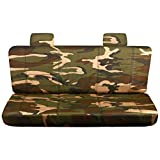 2004-2009 Ford F-150 Camo Truck Seat Covers (Rear 60/40 S...