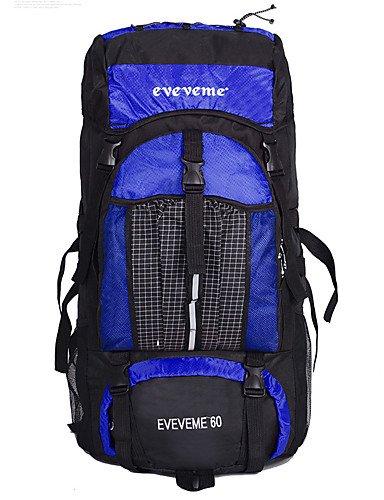 Orange  HWB  60 L sac à dos   Sac à Dos de Randonnée   Etui pour portable   Sac de Randonnée   Organisateur VoyageCamping & Randonnée   Escalade