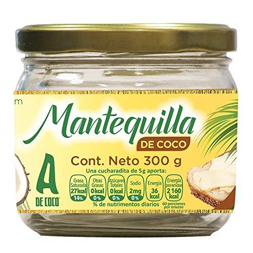 A de Coco - Mantequilla de Coco, 300 g