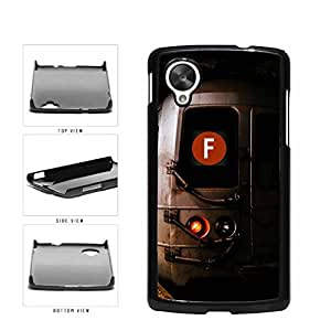 Personalized NYC Train Custom Letter F Plastic Phone Case Back Cover Nexus 5
