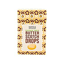Marks & Spencer Sugar Free Butter Scotch Drops 42g