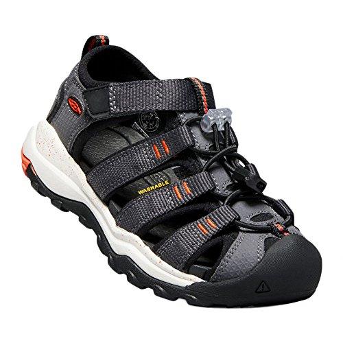 Keen Newport Neo H2 1018433 Boys Sandals Magnet/Spicy Orange