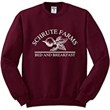 Nuff Said Schrute Farms Beets Bed and Breakfast Sweatshirt Sweater Pullover - Unisex