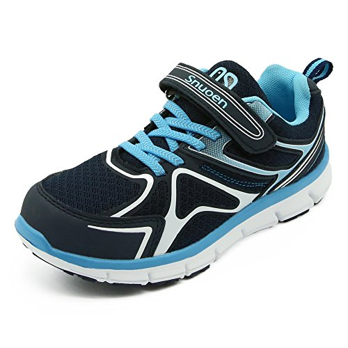 Snuoen Kids Shoes Toddler Boys Girls Velcro Running Shoes Casual Light Weight (Kids Velcro)
