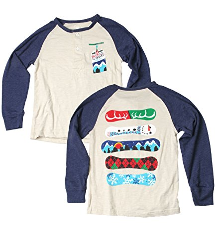 Wes and Willy Snowboard Long Sleeve Raglan ()