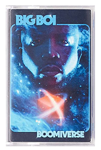 Big Boi - Boomiverse Limited Tape Exclusive Blue Cassette