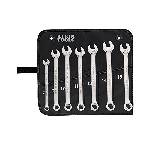 - Combination Wrench Set, Metric, 7-Piece Klein Tools 68500