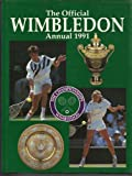 Front cover for the book The Official Wimbledon Annual 1991 by John Parsons