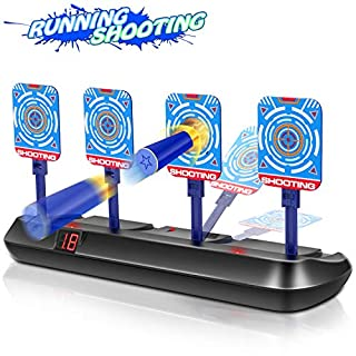 AUSUT Shooting Target Toys for Nerf Guns - Electronic Auto Reset Digital Scoring Targets with Sound Effect for Nerf Guns Boy Gift