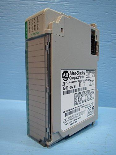 Allen Bradley 1769-OV16 Compact I/O AB Sinking Output Module 1769OV16 2.1 Logix