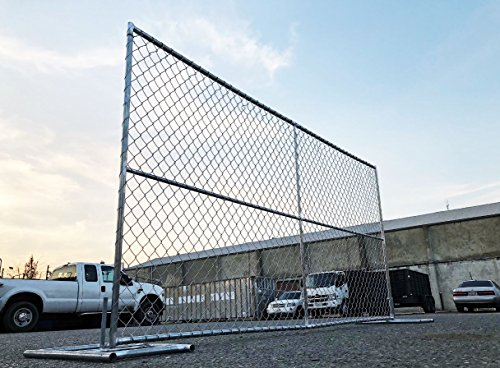 Temporary Chain Link FENCE Panels 6x12ft and Other Sizes