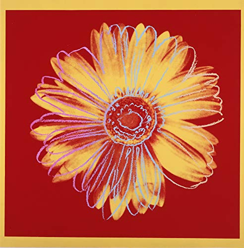Berkin Arts Andy Warhol Giclee Art Paper Print Art Works Paintings Poster Reproduction(Daisy) (Warhol Daisy)