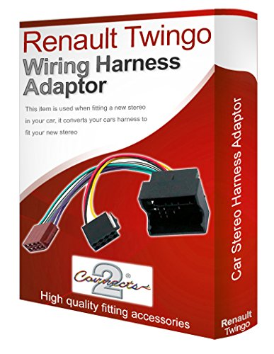 Renault Twingo CD radio stereo wiring harness adapter lead loom ISO converter: Amazon.co.uk: Electronics