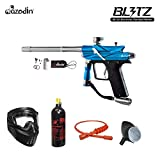 MAddog Azodin Blitz 3 Bronze Paintball Gun Package - Blue