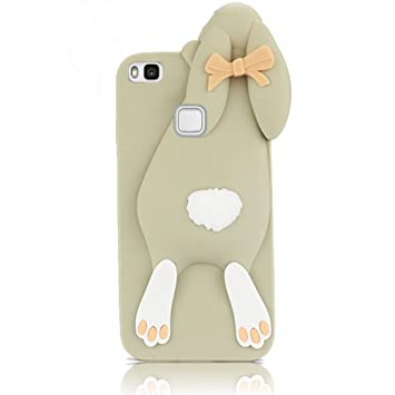 coque huawei p9 lite silicone drole
