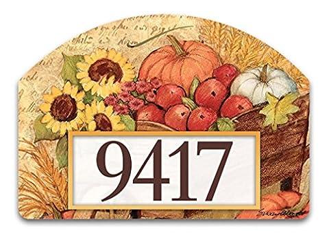 Yard DeSign Autumn Cart Yard Sign #71223 - Magnetic Yard