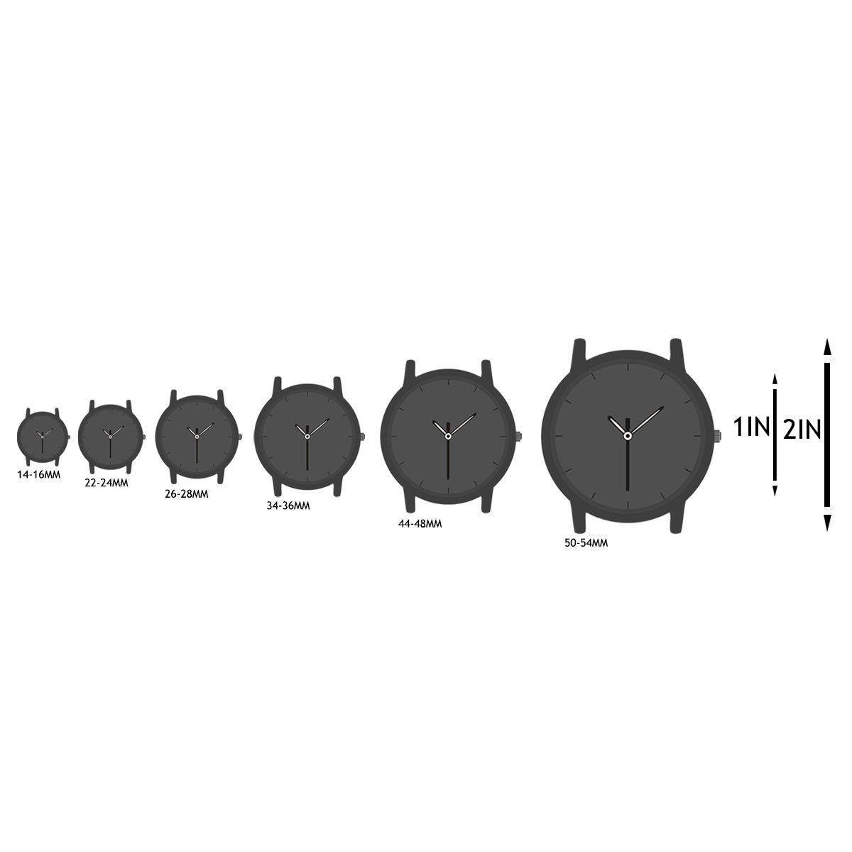 ManChDa Big Case 47MM XL Automatic Mechanical Crystal Black Leather Wrist Watch + Gift Box by ManChDa (Image #6)