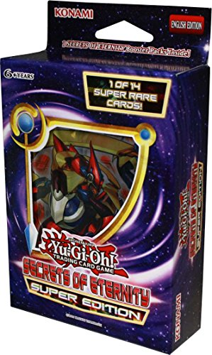 Yugioh Secrets of Eternity SE Special Super Edition MINI Booster Box - 3 packs / 9 (Special Edition Mini Box)