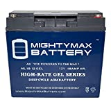 Mighty Max Battery 12V 18AH Gel Battery Door King 6002 Solar Control Box Brand Product