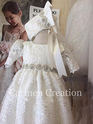 Venetian Baptism Gown by Carmen Creation