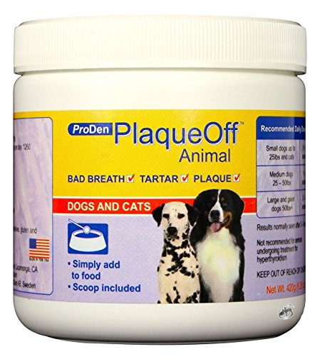 Proden PlaqueOff Dental Care for Dogs and Cats, 420gm