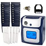 #6: CALCULATING AT-4500 sets up in minutes - totals REGULAR and OVERTIME hours worked