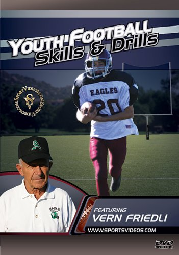 Youth Football Skills and Drills DVD featuring Coach Vern Friedli ()