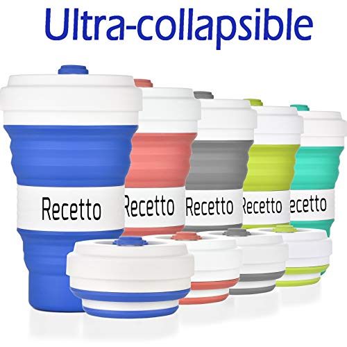 [Upgraded Version] Collapsible Coffee Cup – Coffee Cups Take Away...