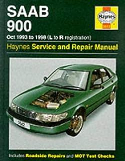 saab 900 16 valve official service manual 1985 1986 1987 1988 rh amazon com Saab 900 Turbo Convertible Saab 900 SPG