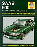 img - for Saab 900 (October 1993-98) Service and Repair Manual (Haynes Service and Repair Manuals) book / textbook / text book
