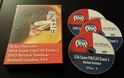 actex-actuarial-soa-exam-fm-cas-exam-2-seminar-review-dvds