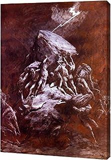 La Chute Des Titans by Gustave Dore - 8