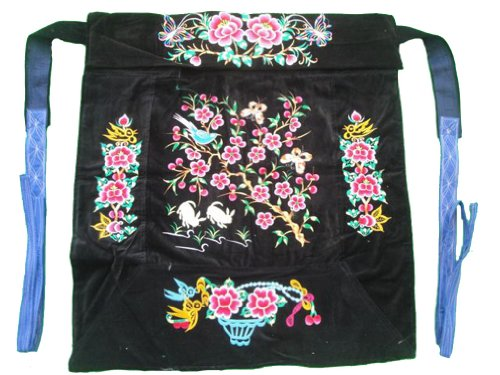 Snugli Baby Sling - Flowery Mei Tai Baby Carrier 100% Handmade Art Front Back Sling Wrap Podaegi #126