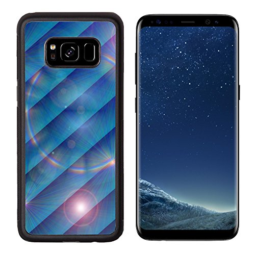 Luxlady Premium Samsung Galaxy S8 Aluminum Backplate Bumper Snap Case IMAGE ID: 24314001 bright festive background
