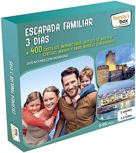family box escapada familiar 3 dias