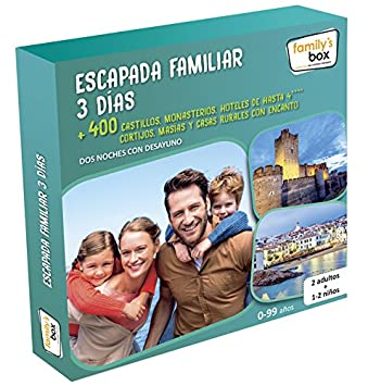 FAMILYS BOX Caja Regalo Escapada Familiar 3 DãAs